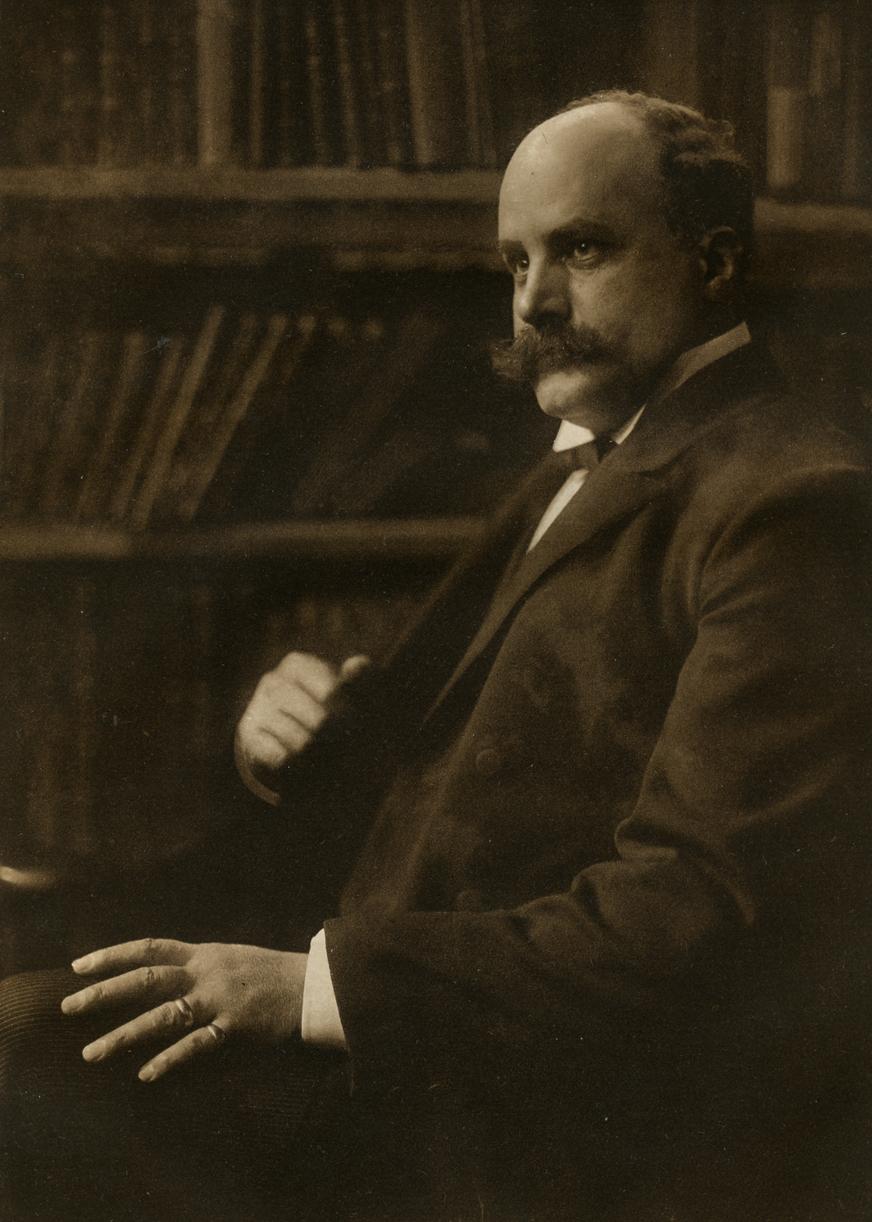 Objektart : Foto Titel : Robert Münzel Künstler : Rudolph Dührkoop  Datierung : 1905. Geboren, 11.